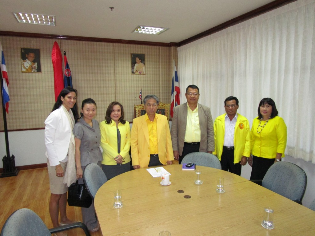 Meeting with Governor of Nongkhai Khun Suchat Nopphawan and his team